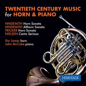 Twentieth Century Music for Horn and Piano. Heritage Records HTGCD 164