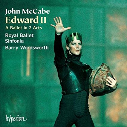 Hyperion CD cover for John McCabe's ballet 'Edward II'