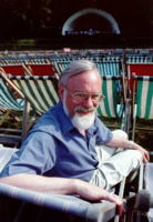 John McCabe at Kenwood, at the rehearsal for the premiere of Salamander, June 25 1994. Photo © John Scott, courtesy of British Bandsman