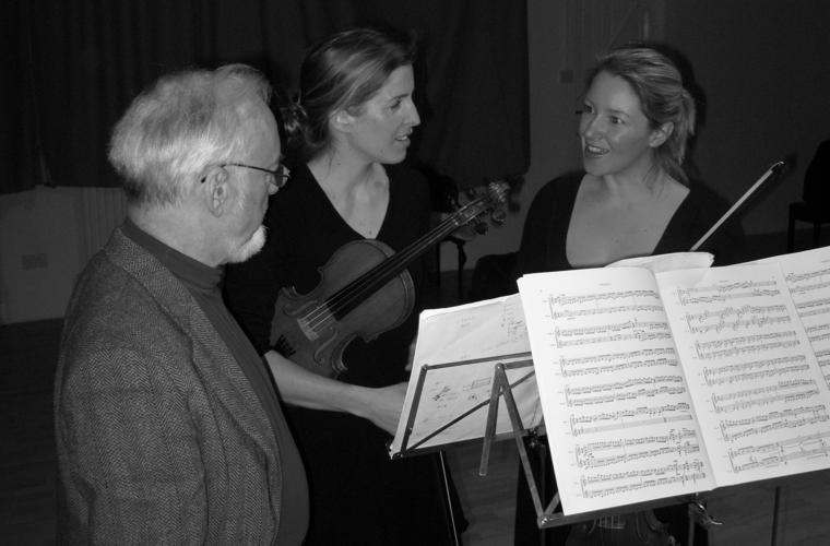 John McCabe with Retorica - Harriet Mackenzie and Philippa Mo